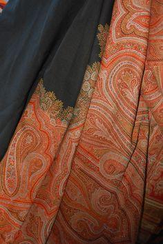 Kashmir paisley shawl
