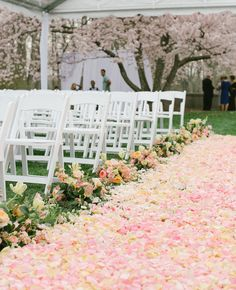 Gorgeous aisle.... if I can afford that many flowers! LOL  (from The Knot Dream Wedding)