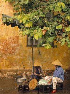 Hoi An, Vietnam-Walter Bibikow-Photographic Print Laos, Vietnam Travel, Vietnam War, Danang Vietnam, Vietnam Veterans, Saigon Vietnam, Vietnam History, South Vietnam, Hoi An