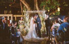 Wedding Kiss, Wedding Album, Wedding Ceremony, Wedding Planner, Wedding Photos, White Orchids, Chiang Mai, Contemporary Style, Elegant Wedding