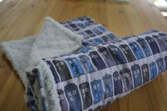 Doctor Who Tardis Baby Blanket!!!!