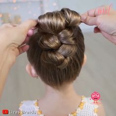 Amazing braid hairstyles that your little ones will love! By: @Lizas Braids on Youtube