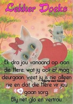 Slaap Evening Greetings, Afrikaanse Quotes, Goeie Nag, Good Night Quotes, Sleep Tight, Day Wishes, Strong Quotes, Good Morning, Positivity