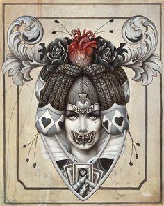 Ilustraciones surrealistas Sophie Wilkins 5