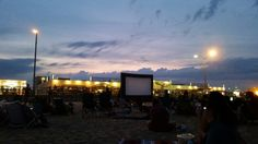 Free movies on 3rd Avenue beach through August!   http://asburyparksun.com/free-beach-movie-series-returns-to-asbury-park/