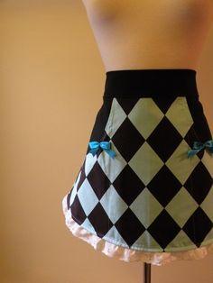 #half #apron #hostess