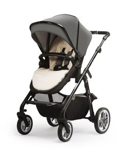 Prams in the Silver Cross Special Edition Eton Grey collection include a seat liner made from the softest faux fur, so your baby travels in the utmost comfort.