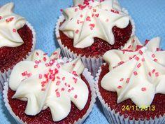 Recetas a la Verónica: Terciopelo Rojo (Red Velvet), el Cupcake más apasionado (1ª ENTREGA)