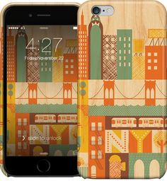 New York City iPhone Cases & Skins by Petit Collage   Nuvango