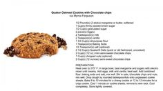 I love chocolate! A great chocolate chip recipe on the Friday Review  #chocolate #cookies #recipe
