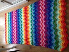 Ripple blanket #haken #Minousche