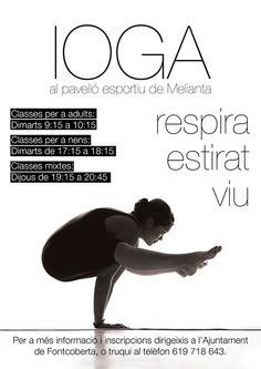 Cartel Curso de Yoga on Behance