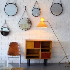 Jacques Adnet mirrors