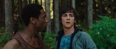 Grover with percy at his first day of camp Percy Jackson Lightning Thief, Percy Jackson Movie, Percy Jackson Characters, The Lightning Thief, Percy Jackson Fandom, Smallville, Alter Ego, Chelan Simmons, Superman