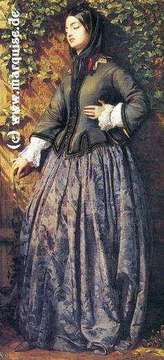The Visit by Moritz von Schwindt, 1855   travel suits  Neue Pinakothek, München