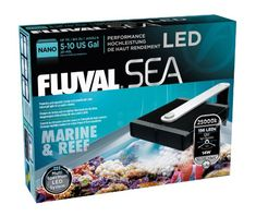 Fluval Sea Nano Marine & Reef LED Lamp - 14 W - ON SALE! http://www.saltwaterfish.com/product-fluval-sea-nano-marine-reef-led-lamp-14-w