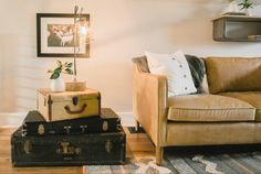 The Shotgun House | Season 3 | Fixer Upper | Magnolia Market | Living Room | Tiny House | Chip & Joanna Gaines | Waco, TX
