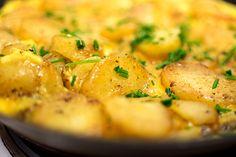Potatisomelett för fyra