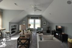 bonus room with slanted ceilings - Google Search