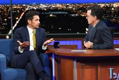 James Franco Denies Sexual Misconduct Accusations on Colberts Late Show