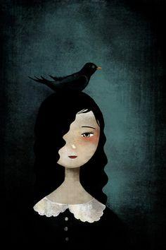 Loving the dark/raven theme.