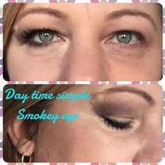 Simple smoky eye using pallet three off Younique Addiction pallets