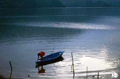 Tranquillity in #Phewa_Lake #Pokhara #Nepal