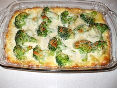 Zapekaná brokolica so zemiakmi a syrom (fotorecept) - Recept Slovak Recipes, Czech Recipes, Hungarian Recipes, Clean Eating, Healthy Eating, Cooking Recipes, Healthy Recipes, What To Cook, Potato Recipes