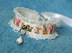 Vintage Pet  collar for pet play age play bdsm ddlg abdl