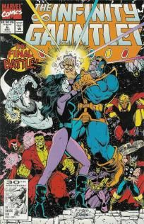 Infinity Gauntlet #6 Jim Starlin George Perez Thanos ---> shipping is $0.01!!!