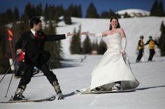 Ski & Snowboard wedding getaway