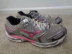 0412984c5dc401 Womens Mizuno Wave Nirvana 6 Running Cross Training shoes size 10 US   Mizuno  RunningCrossTraining