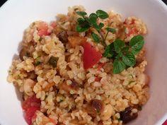 Verboten gut ⚠: Bulgursalat mit gegrilltem Gemüse