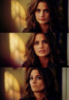 Hair (Stana Katic as Kate Beckett from Castle) Castle Abc, Castle Series, Castle Tv Shows, Chicago Fire, Ncis, Criminal Minds, Beautiful People, Beautiful Women, Richard Castle