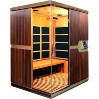 Luxo Valo 4 Person Western Red Cedar Infrared Sauna (4N)