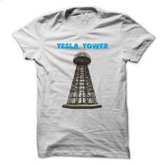 Tesla Tower - #design t shirts #girl hoodies. ORDER HERE =>…