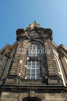 #Blick auf das #Ostportal der #Frauenkirche von #Dresden #Stockfotos & #lizenzfreie #Bilder auf #Fotolia.com - #Bild https://de.fotolia.com/id/24147848