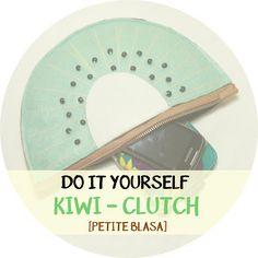 DIY: Clutch con forma de kiwi