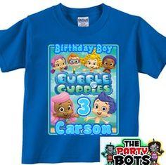 Bubble Guppies Boy or Girl Birthday Shirt