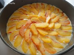 şeftalili kek nasıl yapılır?,en güzel kek tarifleri,kolay kek tarifleri