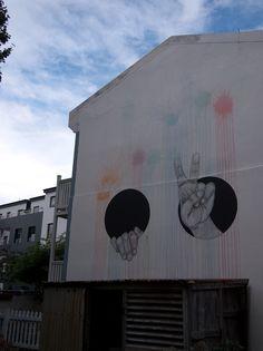 ReFuck me up! Street Art Utopia, Murals Street Art, Urban Street Art, Urban Art, Seen Graffiti, Wall Murals, Wall Art, Concrete Jungle, Public Art