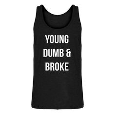 One of my favorites, Tank Young Dumb &... is now in stock at Indica Plateau! http://www.indicaplateau.com/products/indica-plateau-young-dumb-broke-mens-tank-top?utm_campaign=social_autopilot&utm_source=pin&utm_medium=pin Check it out!