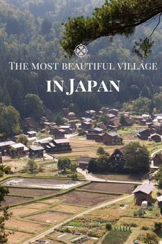 The most beautiful village in Japan is Shirakawa-go in the Gifu Prefecture. The village with it's old reed covered houses is a UNESCO World Heritage site Japan Travel Tips, Asia Travel, Travel Guide, Vietnam Travel, Shirakawa Go, Japan Holidays, Japan Destinations, Visit Japan, Holiday Travel