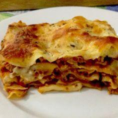 Diétás lasagne - Cukkinis lasagne tészta nélkül - Fogyás Coachinggal