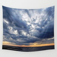New, Under the Storm   https://society6.com/product/clouds-on-the-sea-tlx_tapestry?curator=danbythesea Available as over 20 different products  Follow DanByTheSea  https://society6.com/danbythesea #society6 #DanByTheSea