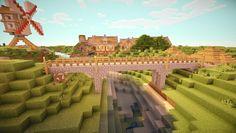 minecraft-village-bridge