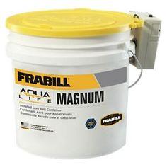 Frabill Aqua-Life Bait Bucket with Aerator - 4.25 Gallon
