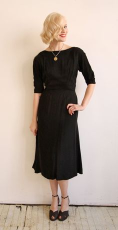 1940s Dress // vintage 40s // In the Mood by dethrosevintage, $108.00