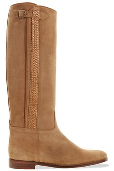 Harmony Suede Boot @Kristen Kyslinger St. Barth