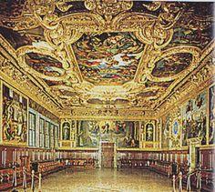 Venezia - Palazzo Ducale - Sala del Senato